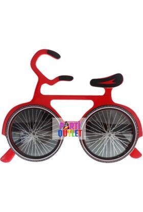 Partioutlet Gözlük Bisikletli Kırmızı