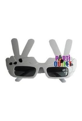 Partioutlet Playboy Gözlük Beyaz