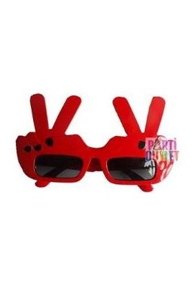 Partioutlet Playboy Gözlük Kırmızı