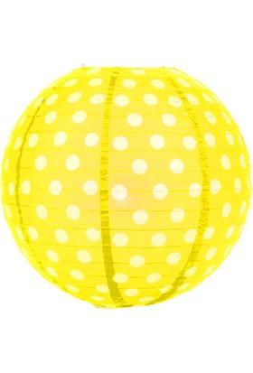 Partioutlet Sarı Puantiyeli Fener