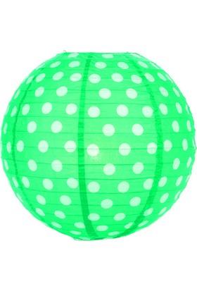 Partioutlet Yeşil Puantiyeli Fener