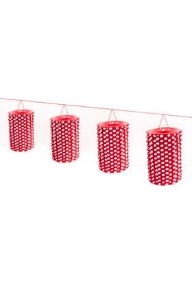 Partioutlet 8 Li Fener - Kırmızı