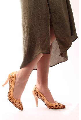 Gön Deri Kadın Ayakkabı 22381