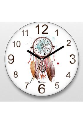 İf Dizayn Rüya Avcısı Düş Kapanı Sessiz Duvar Saati