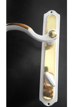 Pimador Pimador Hanedan Beyaz -Sarı Wc Kapı Kolu