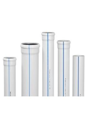 Hakan Plastik Pvc Atık Su Borusu Tip1 3.2 Mm 100X150