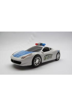 Limon Oyuncak Sesli Işıklı Hareketli Polis Arabası 6313