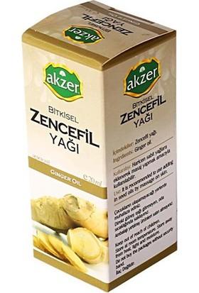 Akzer Zencefil Yağı 20Cc