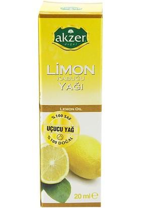 Akzer Limon Kabuğu Yağı 20Cc