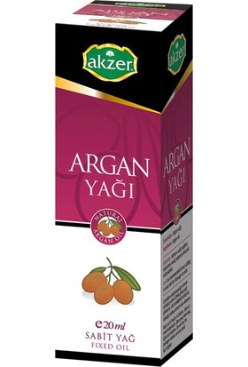 Akzer Argan Yağı 20Cc