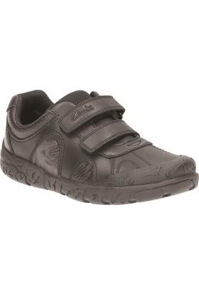 Clarks Brontostep Inf Erkek Çocuk Ayakkabı Siyah