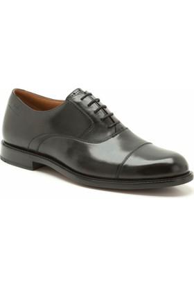 Clarks Dorset Boss Erkek Ayakkabı Siyah