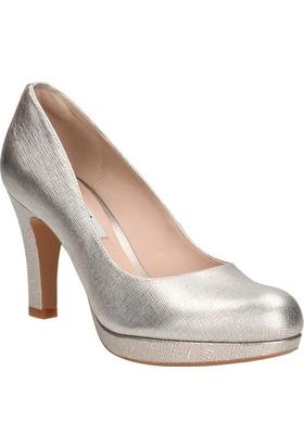 Clarks Crisp Kendra Kadın Ayakkabı Gümüş