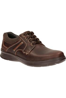 Clarks Cotrell Plain Erkek Ayakkabı Kahverengi