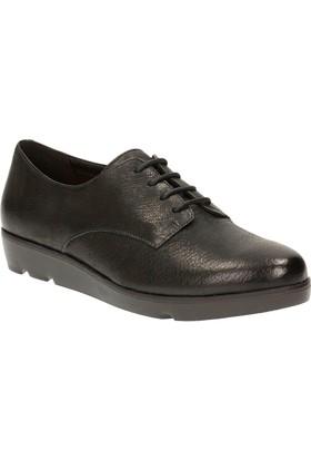 Clarks Evie Bow Kadın Ayakkabı Siyah