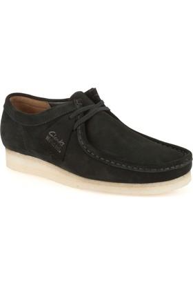 Clarks Wallabee Erkek Ayakkabı Siyah