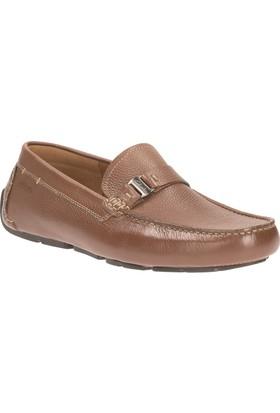 Clarks Davont Saddle Erkek Loafer Ayakkabı Taba