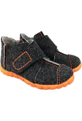 Super Fit Çocuk Ev Ayakkabısı, Schwarz Multi Happy, 293.03 Antrasit Melanj