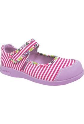 Pediped Bree, Bubblegum, Çocuk Ayakkabı Fuşya Çizgili