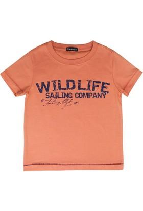Karamela Wild Life T-Shirt Oranj