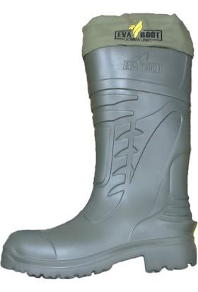 Eva Boot Konçlu Büzgülü Eva Çizme