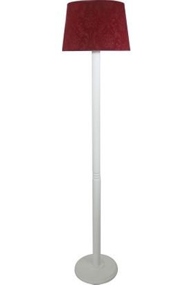 Lambada Delüx Serisi Bordo / Beyaz Torna Ayak