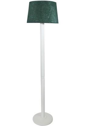 Lambada Delüx Serisi Zümrüt Yeşil / Beyaz Torna Ayak