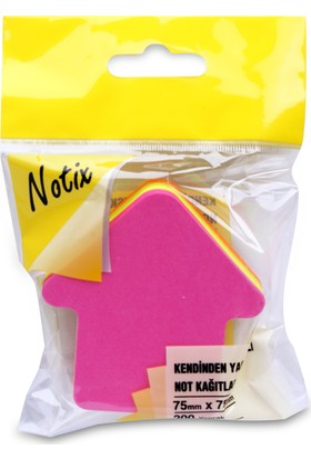 Notix Neon 4 Renk Ok 200 Yp Asmalı