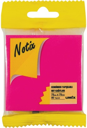 Notix Neon Pembe 80 Yp 75x75 Asmalı