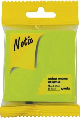 Notix Neon Yeşil 80 Yp 75x75 Asmalı