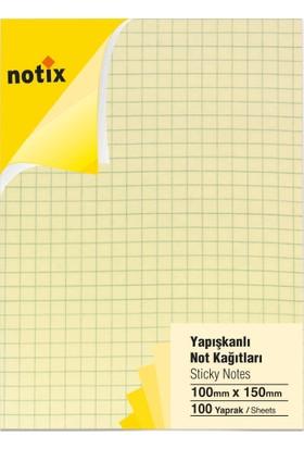 Notix Pastel Sarı Kareli 100 Yp 100x150
