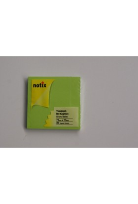 Notix Pastel Yeşil 80 Yp 75x75