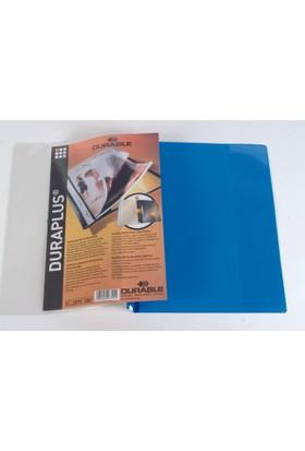 Durable Duraplus Cepli Telli Dosya (Dosyalama Aparatlı) - Mavi