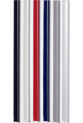 Durable Profil Sırtlık 3mm - 30 Sayfa Kapasiteli 100'lü - Beyaz