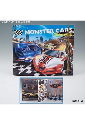 Monster Cars Stıcker