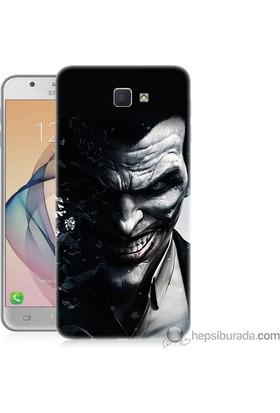 Teknomeg Samsung Galaxy J7 Prime Kılıf Kapak Joker Baskılı Silikon