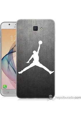 Teknomeg Samsung Galaxy J7 Prime Kapak Kılıf NBA Baskılı Silikon