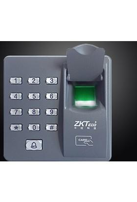 Caddem Zktx6 Şifreli,Kartlı Parmak İzli Kapı Açma Sistemi Geçiş Sistemi