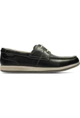 Clarks Fallston Style Erkek Ayakkabı Lacivert