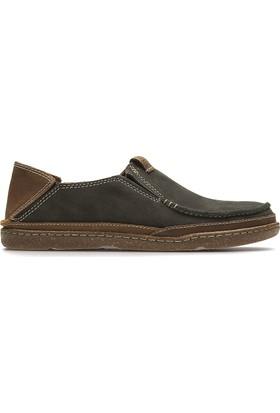 Clarks Trapell Form Erkek Ayakkabı Lacivert