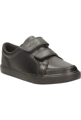 Clarks Loxton Way Inf Erkek Çocuk Ayakkabı Siyah