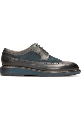 Clarks Kenley Limit Erkek Oxford Ayakkabı Mavi