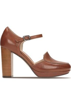 Clarks Gabriel Dawn Kadın Sandalet Taba