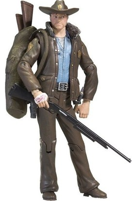 Mcfarlane Toys The Walking Dead Comic Series 1 Officer Rick Grimes