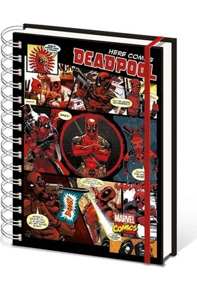 Pyramid International A5 Defter Deadpool Sr72146