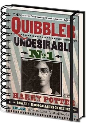 Pyramid International A5 Defter Harry Potter Quibbler Sr72236