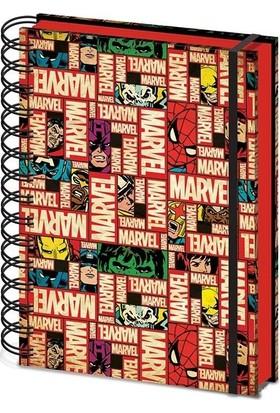 Pyramid International A5 Defter Marvel Block Logo Sr72099