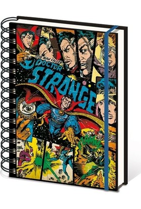 Pyramid International A5 Defter Marvel Retro Doctor Strange Comic Sr72193