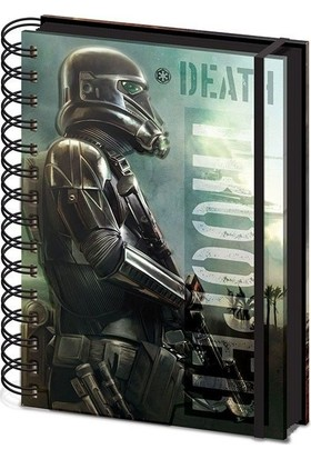 Pyramid International A5 Defter Star Wars Rogue One Death Trooper Sr72175