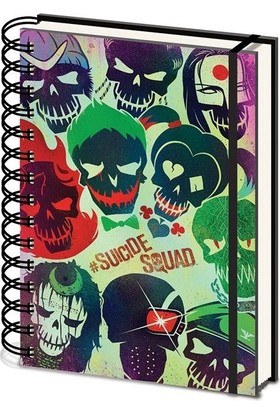 Pyramid International A5 Defter Suicide Squad Sr72151